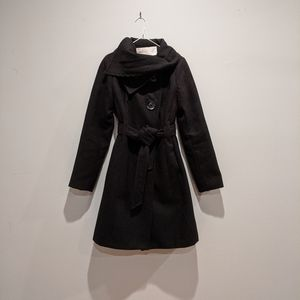 JESSICA SIMPSON Pea Coat with Oversized Buttons